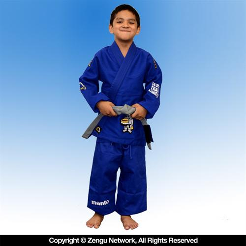 Manto Manto Select Blue BJJ Children's Gi